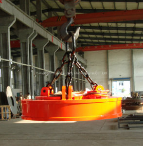 Best Factory of Lifting Electromagnet for Scraps (MW5)