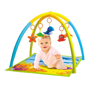 Soft Seaworld Baby Play Mat with Fitness Frame (10217389)