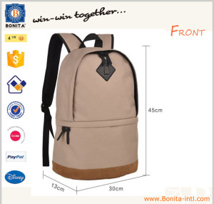 Factory Whole Sale Brief School Bag New Model