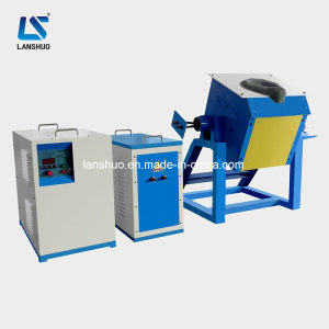 Energy Saving Small IGBT Induction Copper Scrap Smelting Furnace