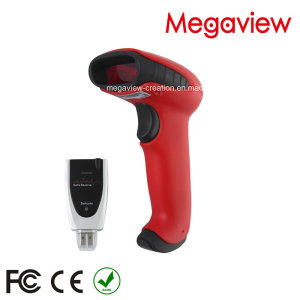 200meters Bluetoothwireless Barcode Scanner with 5000PCS Bar Code Info Recording for Store and Wareh