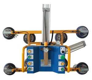 Large Glass Vacuum Lifter with Tilting and Rotating