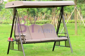 Hot Sale Outdoor Adults Hanging Three Seat Swing Chair