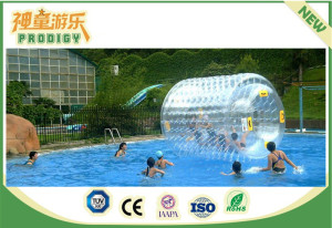 Safety and Funny Outdoor Playground Inflatable Water Ball for Teenager
