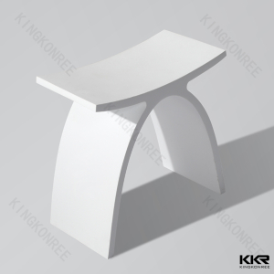 Artificial Stone Bathroom Solid Surface Shower Stool