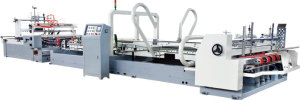 Automatic Corrugated Carton Folder Glue Machine