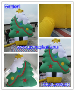 Inflatable Christmas Green Tree Decoration (MIC-347)